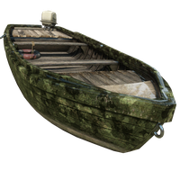 Fishing Boat Woodland Skin