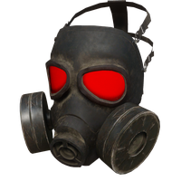 Gas Mask Red Skin