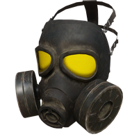 Gas Mask Yellow Skin