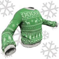 Green And Gray Xmas Sweater