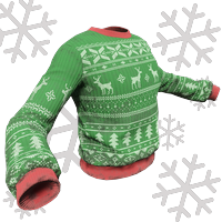 Green And Red Xmas Sweater