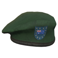 Green AU Military Beret