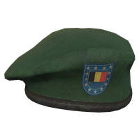 Green BE Military Beret