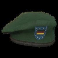 Green DE Military Beret