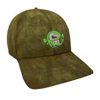 Green Dopefish Flex Cap
