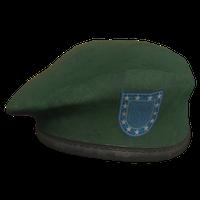 Green Military Beret