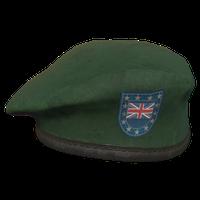 Green UK Military Beret