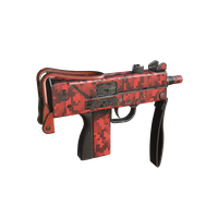 Mac10 Pixel Red