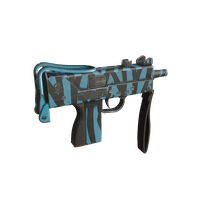 Mac10 Zebra Blue