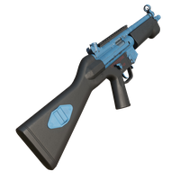 Mp5 Painted Blue