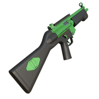 Mp5 Painted Green