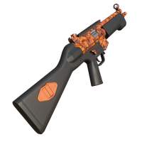Mp5 Pixel Orange