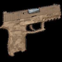 P350 Desert Camo Skin