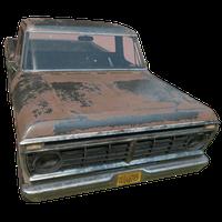 Pickup Truck Black Skin