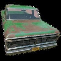 Pickup Truck Green Skin