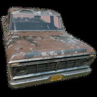 Pickup Truck Hex Skin