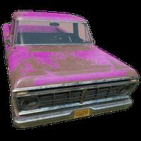 Pickup Truck Pink Skin