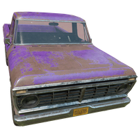 Pickup Truck Purple Skin