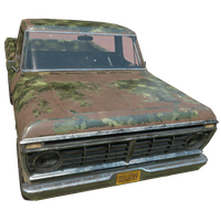 Pickup Truck Woodland Skin