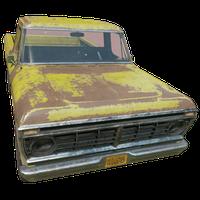 Pickup Truck Yellow Skin