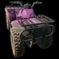 Quadbike Pink Skin