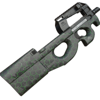R90 Hex Green Skin