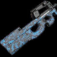 R90 Retro Blue Skin