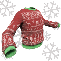 Red And Green Xmas Sweater