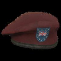 Red UK Military Beret