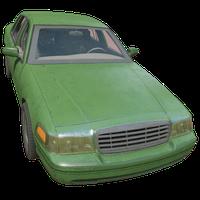 Sedan Green Skin