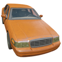 Sedan Orange Skin