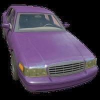 Sedan Purple Skin