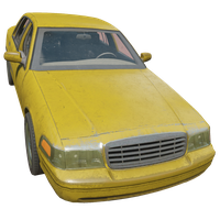 Sedan Yellow Skin