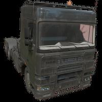 Semi Truck Black Skin