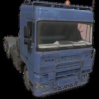Semi Truck Blue Skin