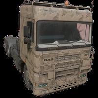 Semi Truck Desert Skin