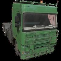 Semi Truck Green Skin