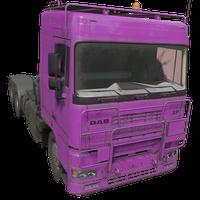 Semi Truck Pink Skin