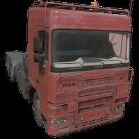Semi Truck Red Skin