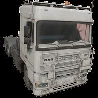 Semi Truck White Skin