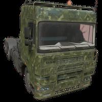 Semi Truck Woodland Skin