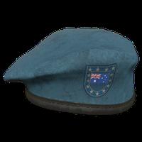 Sky Blue AU Military Beret