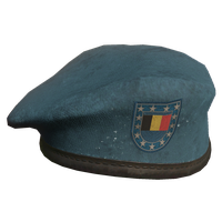 Sky Blue BE Military Beret