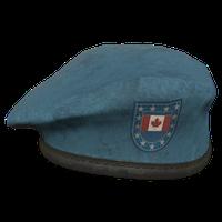 Sky Blue CA Military Beret