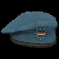 Sky Blue DE Military Beret