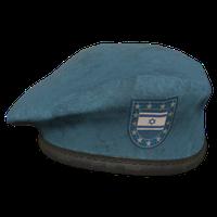 Sky Blue IL Military Beret