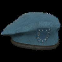 Sky Blue Military Beret