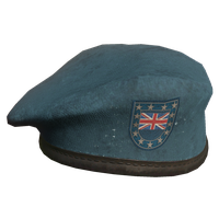 Sky Blue UK Military Beret