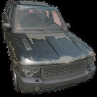 SUV Black Skin