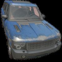 SUV Blue Skin